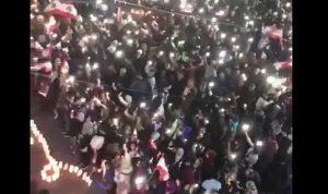 بالفيديو: تجمع كبير في بر الياس داعم للثورة