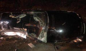 جريحة بحادث سير على طريق عام عجلتون