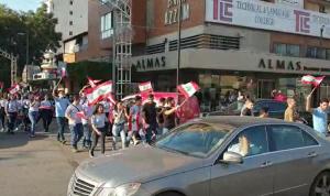 بالفيديو: طلاب الجديدة ينتفضون.. ومسيرة احتجاجية!