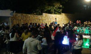اعتصام في بلدة ميمس تنديدًا بالفساد