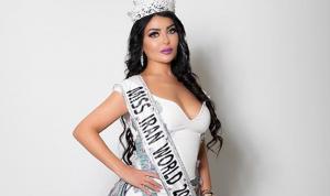 ملكة جمال ايران: لست حبيبة وائل كفوري!