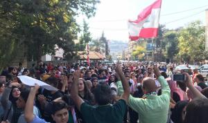مسيرة لمتظاهري النبطية بعد اعتداء الاثنين: لا تراجع! (فيديو)