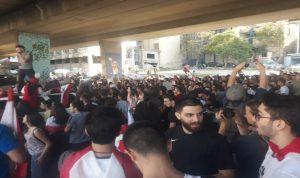 مسيرات مطلبية حاشدة في بيروت (فيديو)