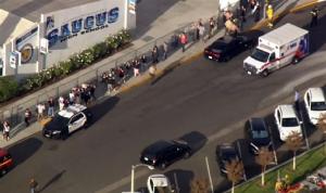 5 جرحى في إطلاق نار عند مدرسة ثانوية في كاليفورنيا