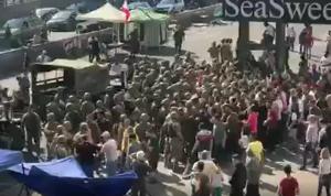 بالفيديو: هكذا فتح الجيش اوتوستراد الزوق