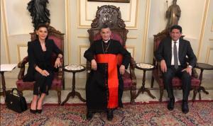 ستريدا جعجع من بكركي: لحكومة مستقلين وإلا سنكون أمام انفجار بشري