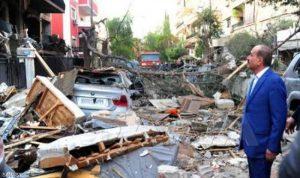 """قصف إسرائيلي على دمشق يستهدف قياديا في """"الجهاد"""" (صور)"""