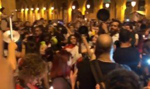 """تظاهرات مسائية في العاصمة: """"يا بيروت قومي قومي بدنا نشكل الحكومة"""" (فيديو)"""