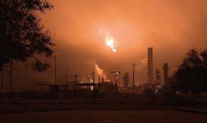 انفجار في مصنع كيميائي في تكساس
