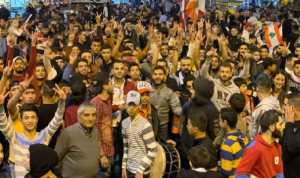 مسيرة من وادي النحلة إلى ساحة النور في طرابلس