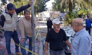 يمق جال في طرابلس واطلع على اضرار الامطار