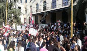من الشمال الى الجنوب.. ثورة الطلاب مستمرة وتحركات أمام المؤسسات العامة