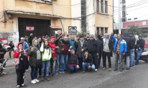 في طرابلس.. محتجون منعوا الموظفين من دخول الدوائر الرسمية