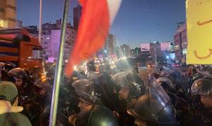 المتظاهرون يقطعون جسر الرينغ