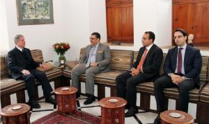 سفير مصر زار الجميّل: للإسراع في تأليف الحكومة