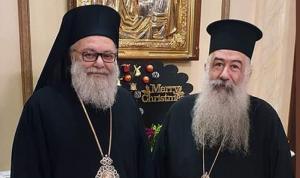 يازجي استقبل مطران عمان: للحفاظ على الوحدة الأرثوذكسية