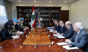 عون: لبنان يرفض أي تعدٍ على حقوقه
