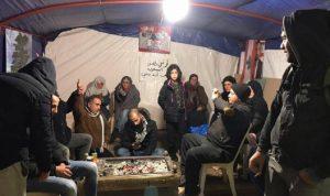 """خيمة في بعلبك لمناقشة قضايا """"الثورة"""""""