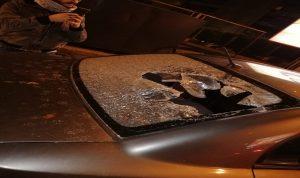 بالفيديو- الاعتداء على المتظاهرين في محيط عين التينة