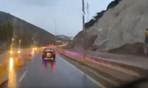 مجددًا… انهيار جزء من الجبل عند نفق شكا!؟ (فيديو)