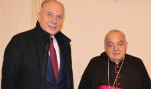دبوسي هنأ المقامات المسيحية في طرابلس