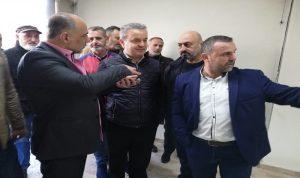 درغام تفقد مكتب التيار في جديدة الجومة: باقون على ثوابتنا