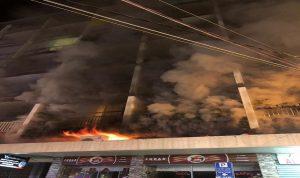بالفيديو- حريق كبير في كركول الدروز