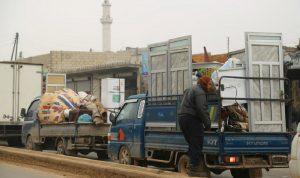 أكثر من 200 ألف فرّوا من إدلب خلال أسبوعين