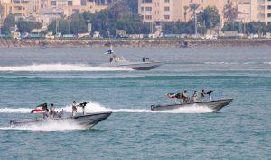 """إيران تبدأ """"المرحلة العملية"""" من مناوراتها البحرية"""