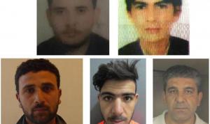5 سجناء فارين من مخفر المصنع… هل تملكون معلومات عنهم؟