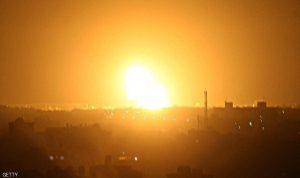 غارات إسرائيلية على قطاع غزة