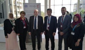 جبق في عمان للمشاركة في اجتماع وزراء الصحة العرب