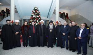 اضاءة شجرة الميلاد في سرايا جبيل