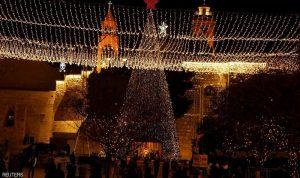 بيت لحم تتزين استعدادا لاحتفالات الميلاد
