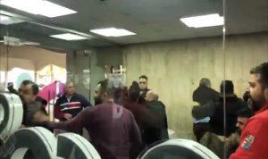 اعتداء على متظاهرين دخلوا مبنى أوجيرو الرئيسي! (فيديو)