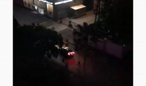 هجوم على خيم الحراك في صيدا وتحطيمها (فيديو)