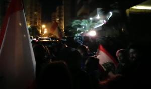 بالفيديو: اعتصام أمام منزل سمير الخطيب رفضًا لتكليفه