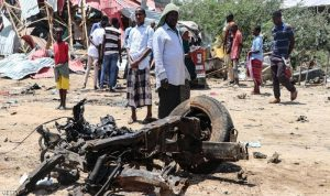أكثر من 100 قتيل بتفجير شاحنة مفخخة في مقديشو