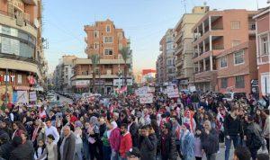 مسيرة جابت احياء طرابلس رفضا لمحاولات بث الفتن
