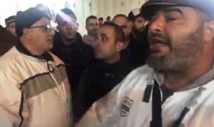 اعتصام أمام منزل علم الدين