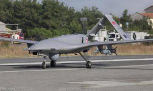تركيا تنشر أول طائرة مسيرة مسلحة في شمال قبرص