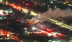 انفجار كبير في هيوستن الأميركية