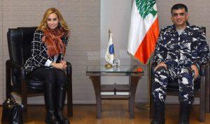 عثمان عرض الاوضاع مع السفيرة السويسرية