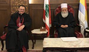سبيتري سلم حسن رسالة من البابا: على المسؤولين تشكيل حكومة