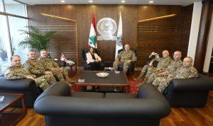 عكر استقبلت المجلس العسكري وقائد اليونيفيل