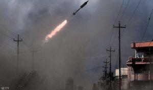 سقوط صواريخ على المنطقة الخضراء وسط بغداد