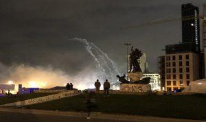 """ناشط من وسط بيروت: """"مكافحة الشغب خبطوني والجيش خلصني!"""""""
