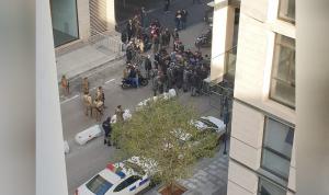 بيروت تغلي.. المحتجون بمواجهة القوى الأمنية (بالفيديو)