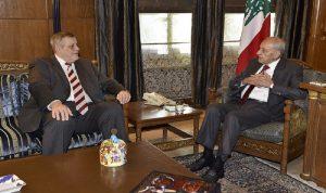 بري استقبل عباس ابراهيم وعرض الأوضاع مع كوبيتش