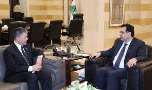 سفير الصين بعد لقائه دياب: لا إصابات بفيروس كورونا بين الجالية
